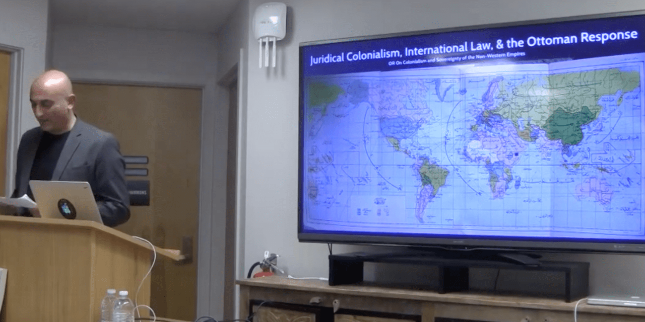 """Juridical Colonialism, International Law, and the Ottoman Response"""
