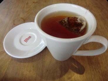 thé chaud miel