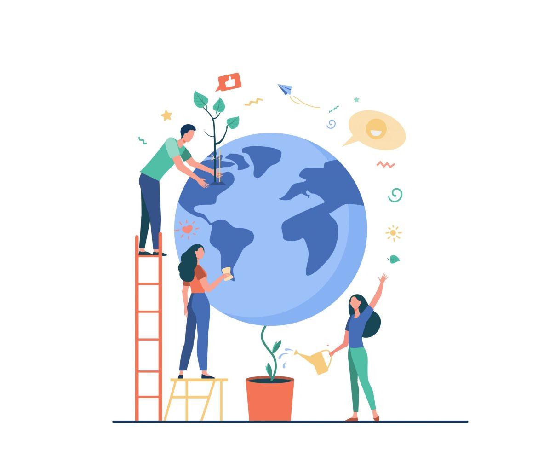 Événement inter-blogueurs: Votre geste pour la planète 🌍 ?