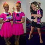 Local dancers awarded first place
