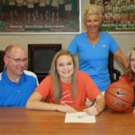 Abbie Barnard signs national letter of intent to Snow College