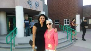 Karla Lupercio, scholarship winner, and Shirley Abbott, scholarship chairman. Submitted photo.