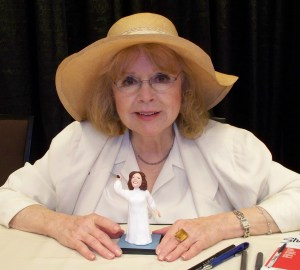 Piper Laurie at Texas Frightmare Convention 2012 Photo credit Barry Crawford