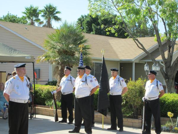 Mesquite Police Honor Veterans Local - Year of Clean Water