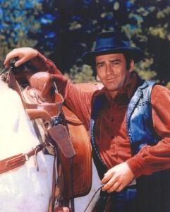 James Drury as The Virginian. Courtesy of James Drury.