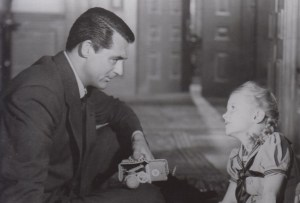 Cary Grant and Karolyn Grimes in The Bishop's Wife