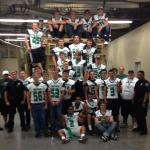 VVHS Football Team provides community services