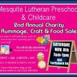 Local Preschool to host Rummage Sale Saturday