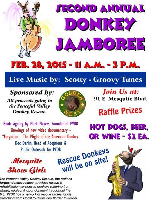 Donkey Jamboree flyer