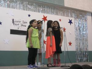 From left to right: Abby Montes, America Gamez, Brizannia Hermosillo and Gaby Lopez.