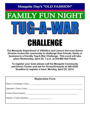 Mesquite Day's Tug-A-War