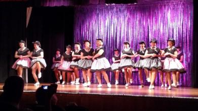 The Clogging Team kicked off the second half of the show with two numbers. Photo by Stephanie Frehner.