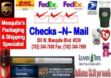 Checksn Mail H & H