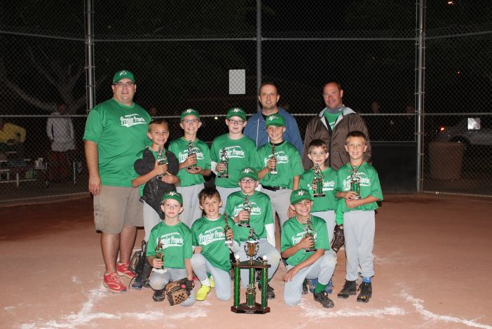 Premier Properties, who defeated Mesquite Elks Lodge 7-5 and are the 2015 Virgin Valley Little League Minor Division Baseball Champions. Photo courtesy of VVLL Facebook.