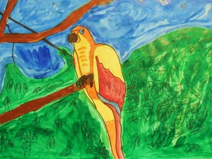 Riley Averett from JL Bowler created this Tropical Bird