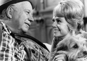 Edgar Buchanan and June Lockhart in Petticoat Junction - CBS