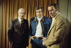Alan Oppenheimer, Lee Majors and Richard Anderson in The Six Million Dollar Man