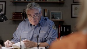 Michael Harney as Sam Healy  in ORANGE IS THE NEW BLACK - Lionsgate Publicity