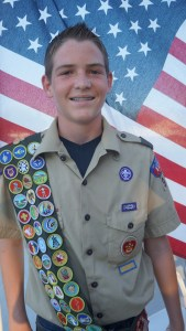 Daxon Toone recently received his Eagle Scout Award. Photo submitted.