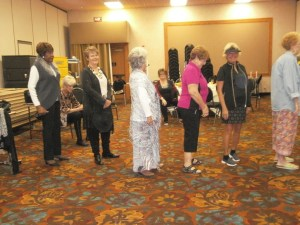 The Desert Dames annual fashion show had thirteen women modeling fashions from local businesses. Photo submitted.