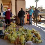 Scouts' Food Drive brings in over 8,000 pounds of food