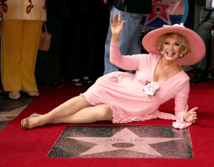 Ruta Lee gets her star on the Hollywood Walk of Fame in 2006 - provided by Ruta Lee