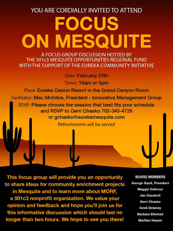 Focus Group invite