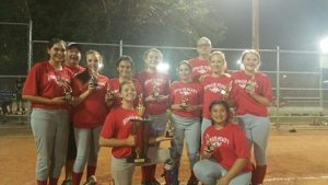Bowler Realty are the Champions of Juniors Softball Division Virgin Valley Little League 2016.