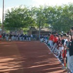 Crowd gathers for Virgin Valley Little League opener