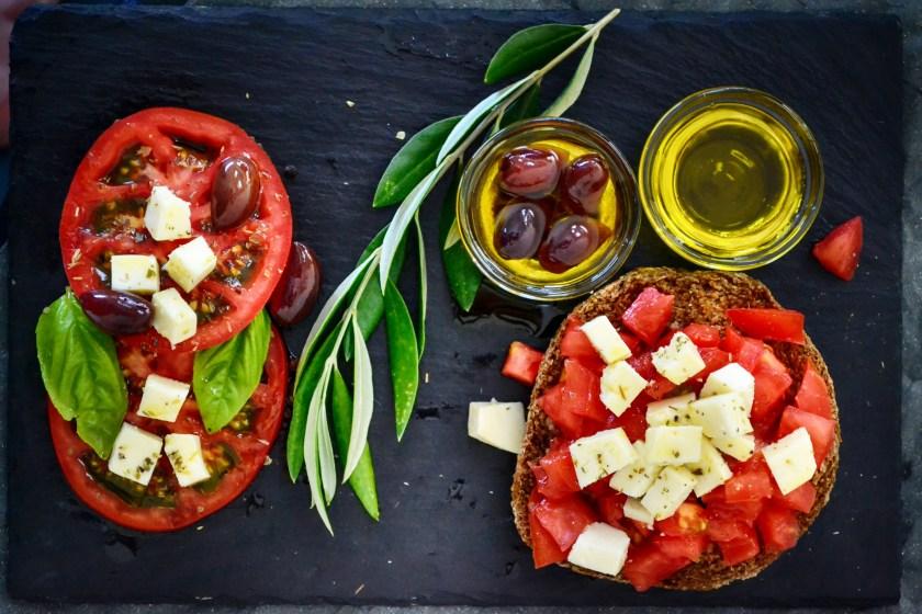 Assiette méditerranéénne