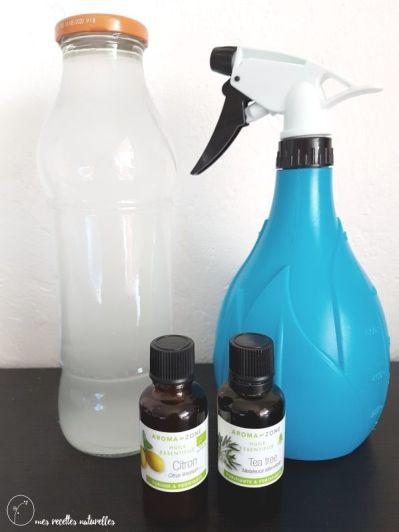 Recette DIY nettoyant désinfectant mutli-usages