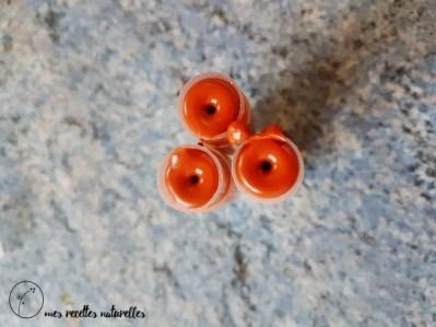 tubes de rouges à lèvres mat maison diy