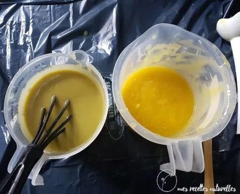 recette de savon exfoliant