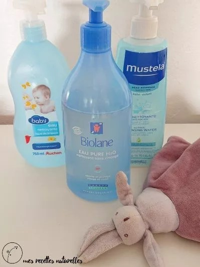 Quelle eau micellaire choisir pour bébé?