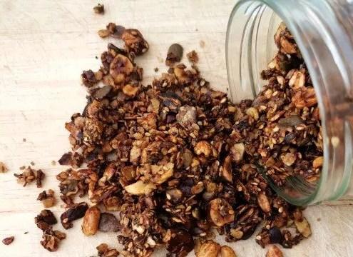 granola salé maison