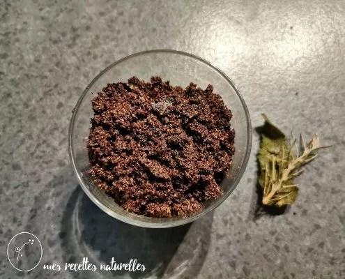 recette de gommage au café
