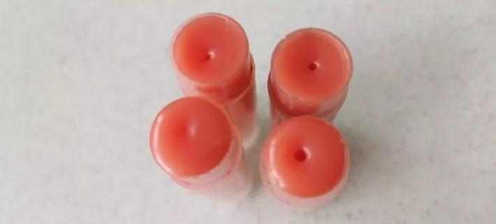 recette pour baumes à lèvres maison, colorés