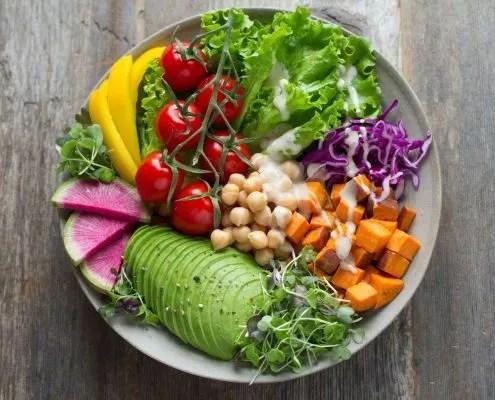 recette végane : les Nutriments dans l'alimentation végétale