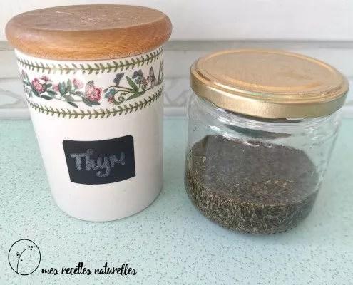 thym : un remede naturel pour la toux