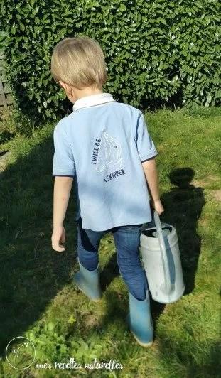 Idée d'activité jardin avec un enfant