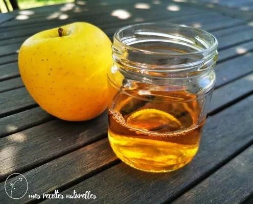 Propriétés du vinaigre de pomme bio pour les cheveux