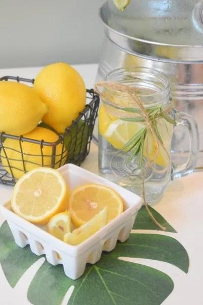 fabriquer un vinaigre au citron pour une action désinfectante