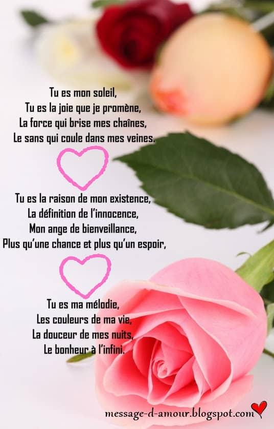 Les Plus Beaux Poemes Sur La Vie : beaux, poemes, Jolies, Poèmes, D'amour, Message