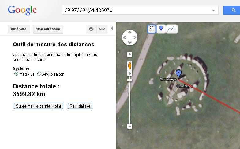 stonehedge – gizeh 3600 km