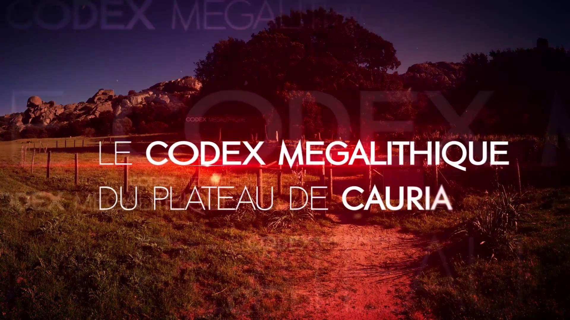 LE CODEX MÉGALITHIQUE DE CORSE DU SUD
