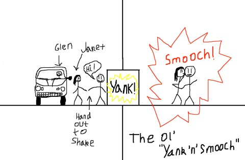 The Ol' Yank & Smooch