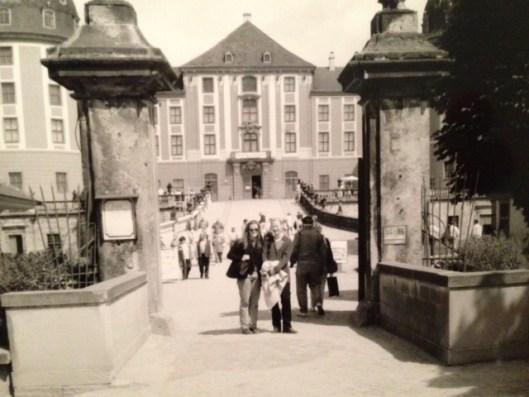 Ryan at Schloss Moritzburg