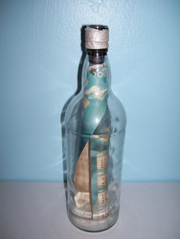 Message in a Bottle Museum: Chris and John from England. Solved.
