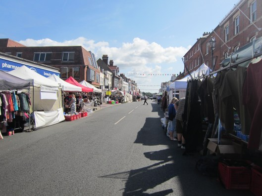Market Day in Lymington.