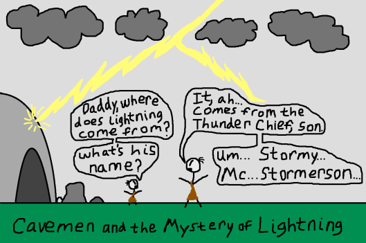 cavemen-lightning-mystery-explanation